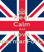Keel Calm And Love 😉SupermanForLife😘 - Personalised Poster A4 size