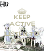 KEEP ACTIVE AND LISTEN TO KPOP! - Personalised Poster A4 size