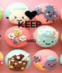KEEP   AND   - Personalised Poster A4 size