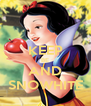 KEEP BE AND SNOWHITE - Personalised Poster A4 size