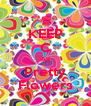 KEEP C All Pretty Flowers - Personalised Poster A4 size