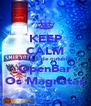 KEEP CALM É dia 5 de outubro OpenBar Os Magnatas - Personalised Poster A4 size
