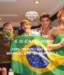 KEEP CALM É O CARALHO THE WANTED NO BRASIL EM SETEMBRO - Personalised Poster A4 size
