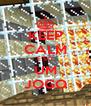 KEEP CALM É SÓ UM JOGO - Personalised Poster A4 size