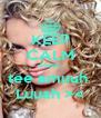 KEEP CALM êêeeú tee amuuh  Luuah >< - Personalised Poster A4 size