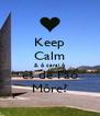 Keep Calm & ó carai ó és de Fão Môre? - Personalised Poster A4 size