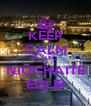 KEEP CALM ŠLIAPU NIŪCHAITE EGLEI - Personalised Poster A4 size