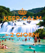 KEEP CALM   - 2 GIORNI  - Personalised Poster A4 size