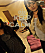 KEEP CALM ♥    - Personalised Poster A4 size