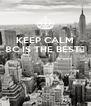 KEEP CALM 8C IS THE BEST👈    - Personalised Poster A4 size