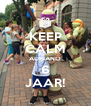 KEEP CALM ADRIANO 6 JAAR! - Personalised Poster A4 size