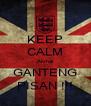 KEEP CALM Akmal GANTENG PISAN !!! - Personalised Poster A4 size