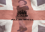KEEP CALM  ALL IS WELL  - Personalised Poster A4 size