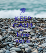 KEEP CALM allan  love keria - Personalised Poster A4 size
