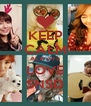 KEEP CALM ALWAYS LOVE SNSD - Personalised Poster A4 size
