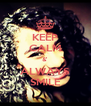 KEEP CALM &' ALWAYS SMILE - Personalised Poster A4 size
