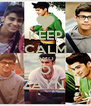 KEEP CALM AMO O ZAYN  - Personalised Poster A4 size