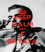 KEEP CALM AND É BATATA - Personalised Poster A4 size