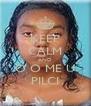 KEEP CALM AND Ó O ME U PILCI - Personalised Poster A4 size
