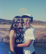 KEEP CALM AND  μην μιλας αλλο - Personalised Poster A4 size