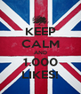 KEEP CALM AND 1.000 LIKES! - Personalised Poster A4 size