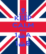 KEEP CALM AND 1^A 1^B - Personalised Poster A4 size