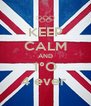 KEEP CALM AND 1°O 4 ever  - Personalised Poster A4 size