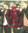 KEEP CALM AND 11.24.11 #2years - Personalised Poster A4 size