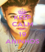 KEEP CALM AND 19 ANINHOS - Personalised Poster A4 size
