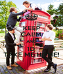 KEEP CALM AND 1D TAKE ME HOME! - Personalised Poster A4 size