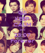 KEEP CALM and 23:07 Forever - Personalised Poster A4 size