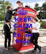KEEP CALM AND 26  de Maio - Personalised Poster A4 size
