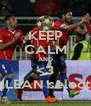 KEEP CALM AND <3 CHILEAN selection - Personalised Poster A4 size