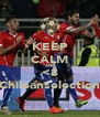 KEEP CALM AND <3 Chileanselection - Personalised Poster A4 size