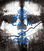 KEEP CALM AND <3 COD  - Personalised Poster A4 size