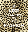 KEEP CALM AND <3 FASHION - Personalised Poster A4 size