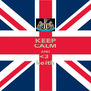 KEEP CALM AND <3  keith - Personalised Poster A4 size