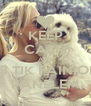 KEEP CALM AND <3 TIK FAINIOM PANELEM - Personalised Poster A4 size