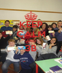 KEEP CALM AND 3B  - Personalised Poster A4 size