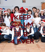 KEEP CALM AND 5 B 4 EVER - Personalised Poster A4 size