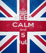 KEEP CALM And 5 Juli - Personalised Poster A4 size