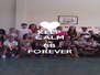 KEEP CALM AND 6B FOREVER - Personalised Poster A4 size