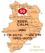 KEEP CALM AND 7-19-2015.      20 PM 1965-2015 - Personalised Poster A4 size