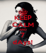 KEEP CALM AND 7 dAys! - Personalised Poster A4 size