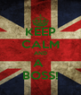 KEEP CALM AND A  BOSS! - Personalised Poster A4 size