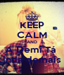 KEEP CALM AND A Demi Tá  Linda demais ! - Personalised Poster A4 size