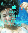 KEEP CALM AND A KÉFERA  É LINDA - Personalised Poster A4 size