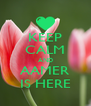 KEEP CALM AND AAMER IS HERE - Personalised Poster A4 size