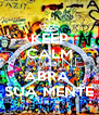 KEEP CALM AND ABRA  SUA MENTE - Personalised Poster A4 size