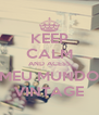 KEEP CALM AND ACESS MEU MUNDO VINTAGE - Personalised Poster A4 size